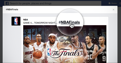 Facebook starts rolling out clickable #hashtags