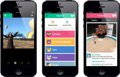 Vine Fights Instagram With Biggest App Update Yet