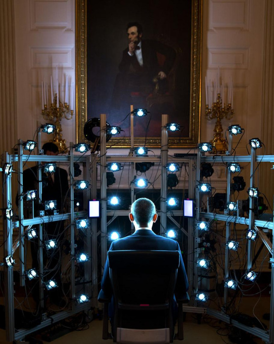 Obama first president to sit for 3D portrait